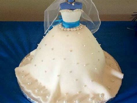 Recipe: Bridal Shower Show Cake. ( Carrot) use w/e flavor