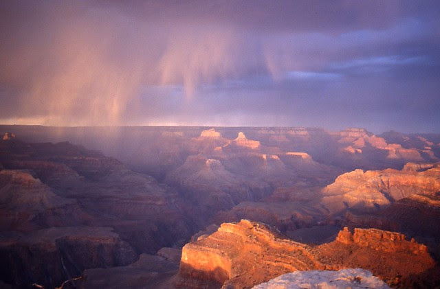 Storm on the Canyon
