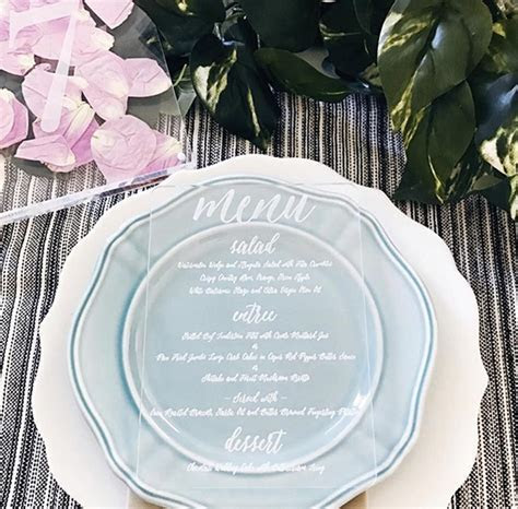 Trending: Acrylic Wedding Invitations, Perspex Wedding