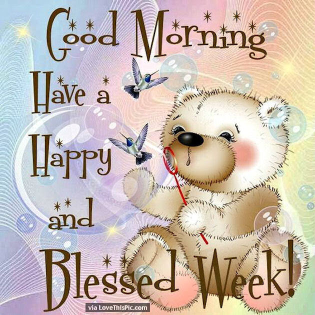 Good Morning Have A Happy And Blessed New Week Pictures Photos And