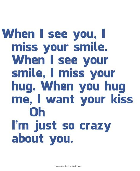 I Wanna See You Smile Quotes
