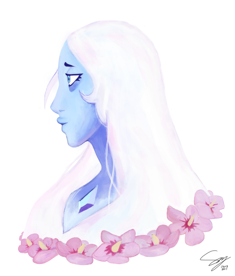 Steven Universe Spoilers/Leaks ahead! Don't get mad at me if you see it Shes very pretty and my art cannot do her justice tbh. EDIT: This is officially my most favorited piece of work ever! Thank y...