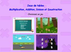 Tables De Multiplication à Imprimer Et Jeux En Ligne