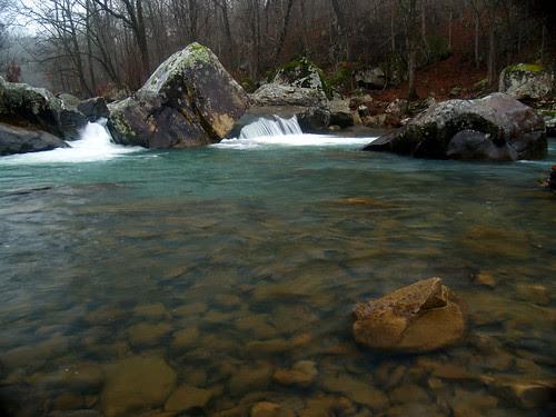 Rainy Richland Creek