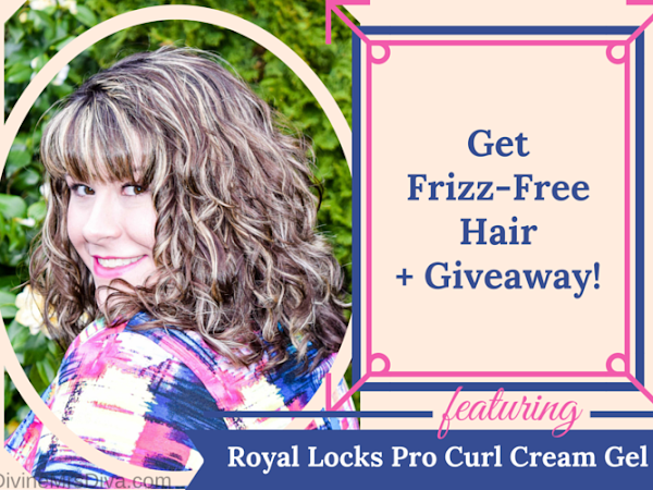 Review: Royal Locks Pro Curl Cream Hair Gel + Giveaway!