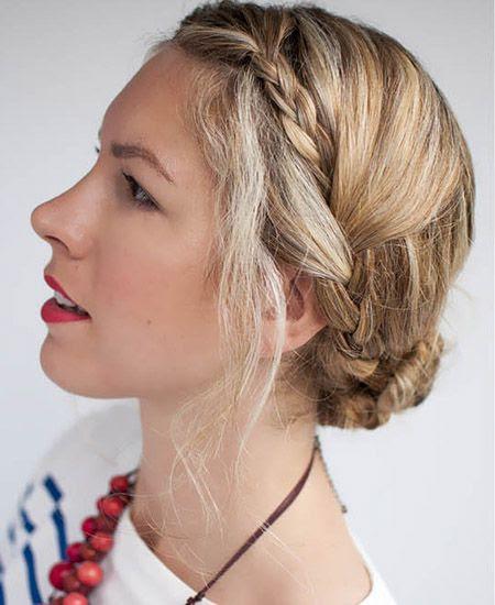 #braid #updo #hair #style