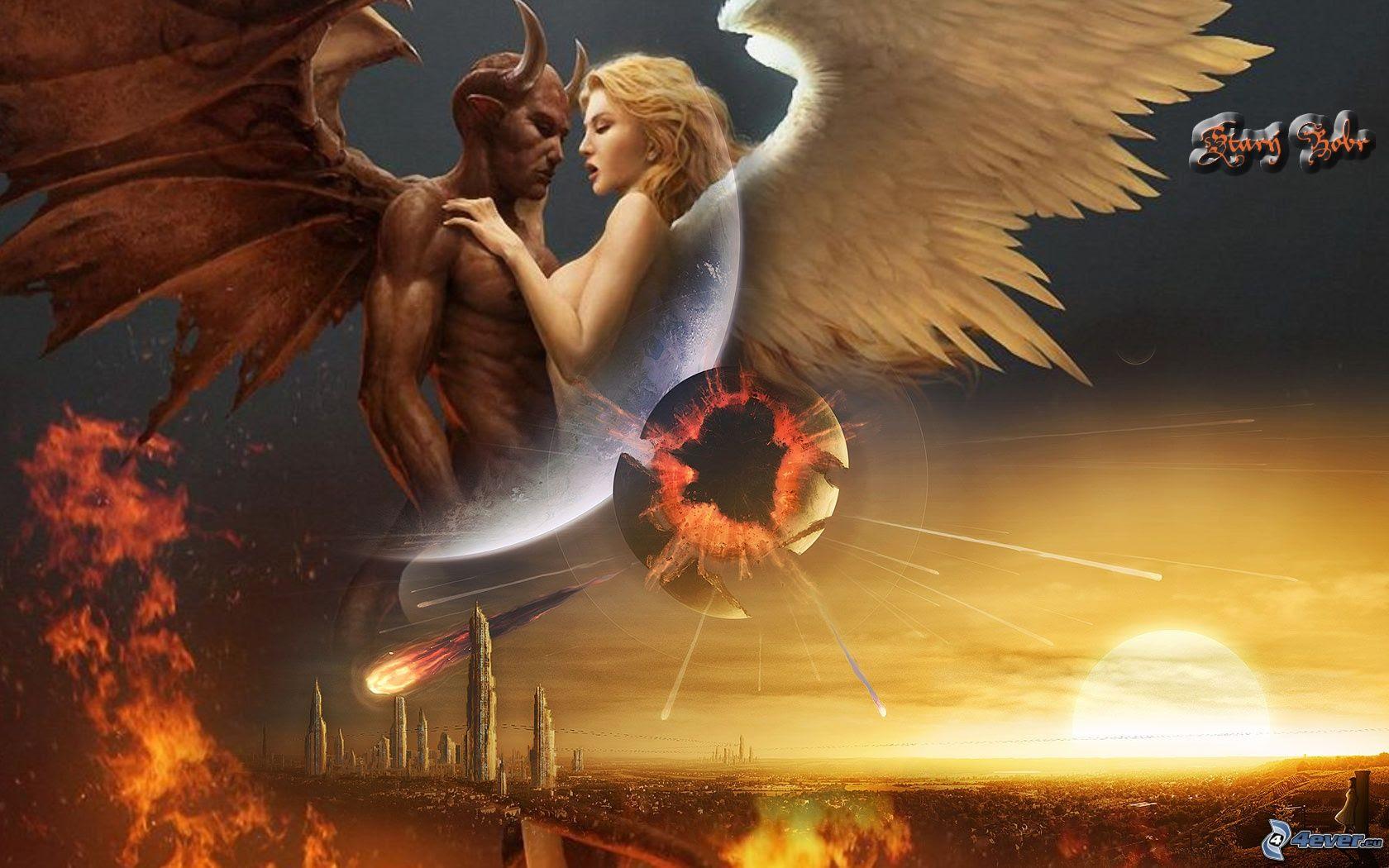 Tattoo Bilder Engel Und Teufel | Tattoo Arts