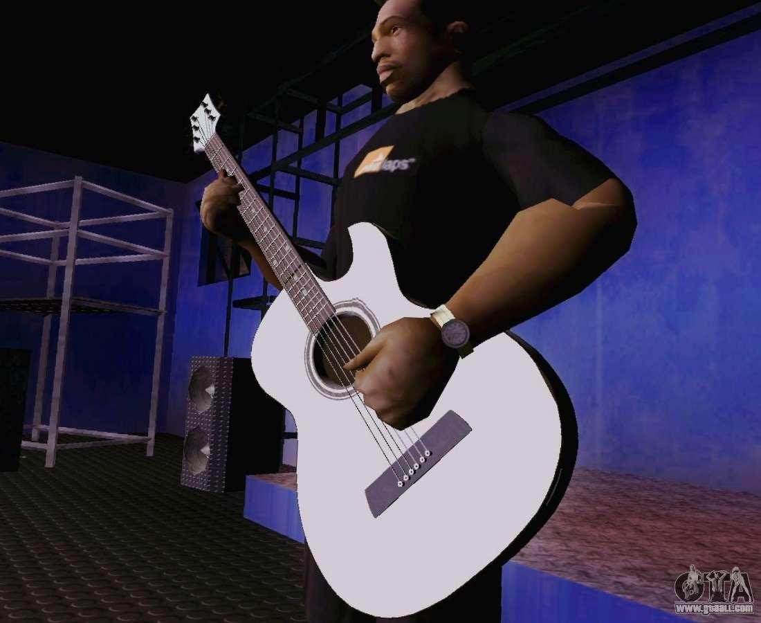 Songs Of Viktor Tsoi Guitar For Gta San Andreas