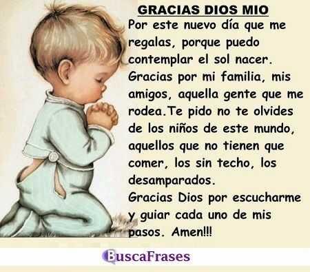 Frases De Agradecimiento A Dios Buscalogratis Es