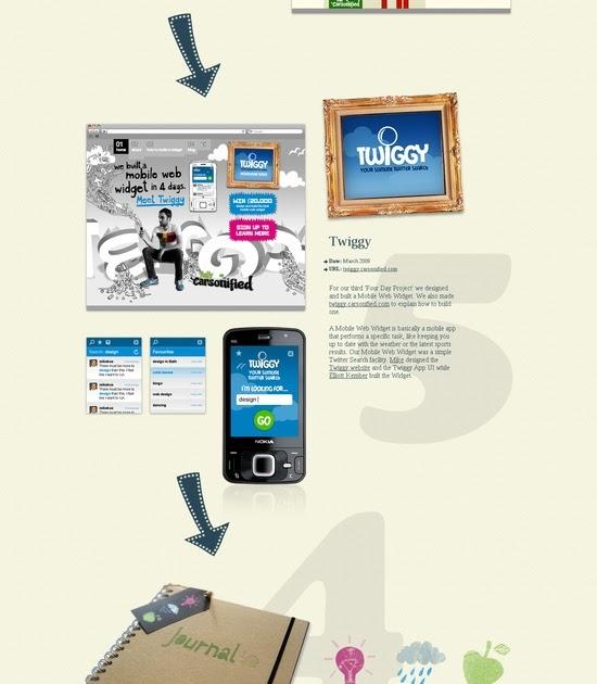 web design ideas projects section web design