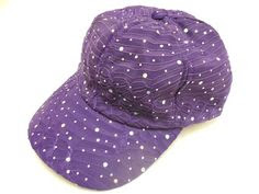 Purple Sparkle Cap