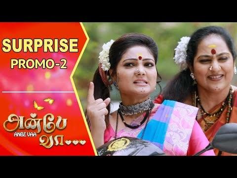 Anbe Vaa | Surprise Promo – 2 | Virat | Delna Davis | Saregama TV Shows Tamil