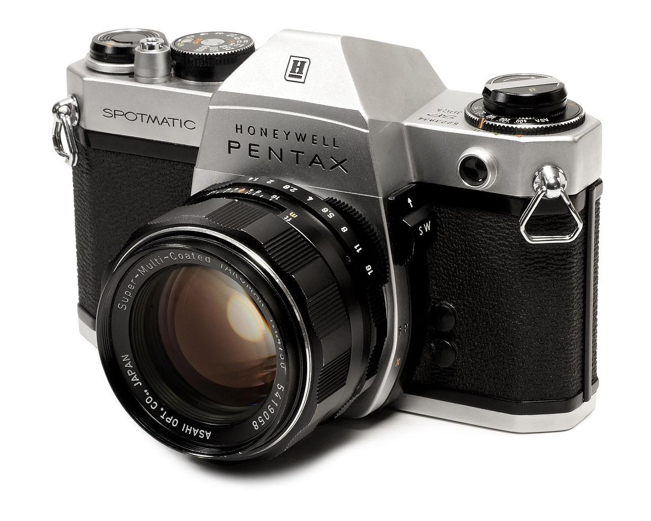 Pentax Spotmatic con Lente 50 mm f/1.4