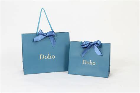 BRAND PAPER BAG: Designer Brand DOHO, brand paper bag