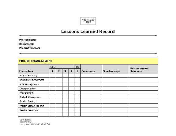 lessons learned record_001141722