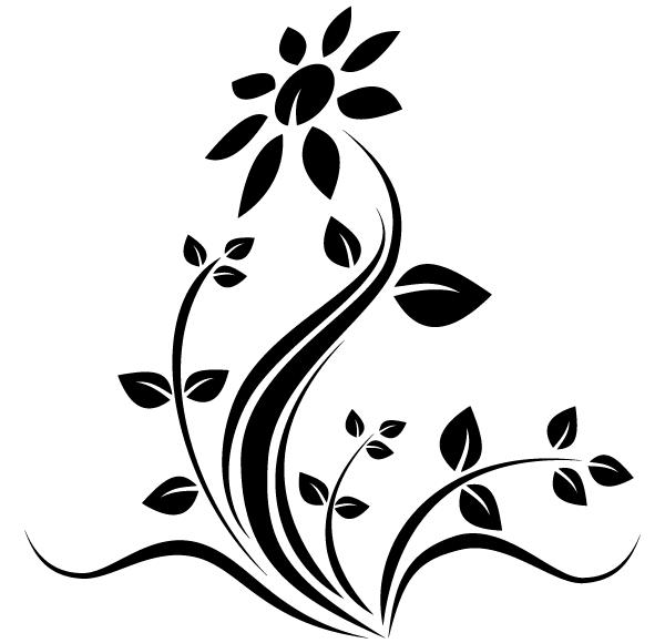 Free Line Art Flower Design Download Free Clip Art Free Clip Art