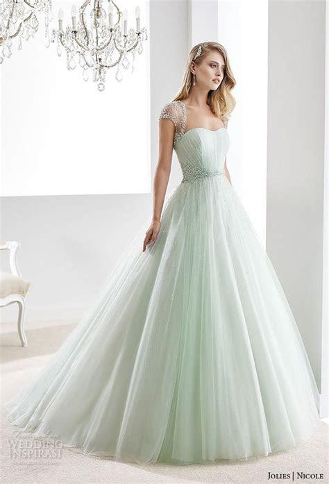 wedding dresses  young color wedding dresses
