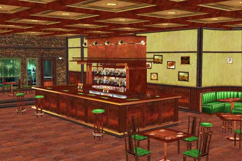 MMD Town Bar