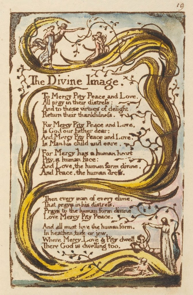 Songs of innocence (The Divine Image)