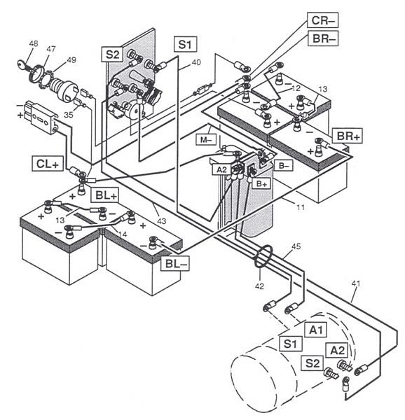35 Ezgo Forward Reverse Switch Wiring Diagram