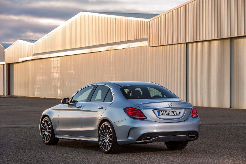 2015 Mercedes-Benz C-Class Starts at $39,325, C400 Costs ...
