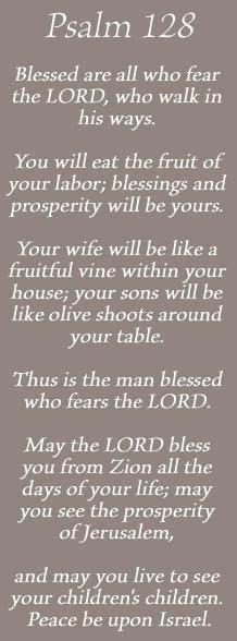 Best 25  Psalm 128 ideas on Pinterest   Catholic bible