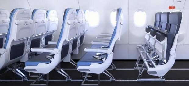 Asientos de aviones del futuro