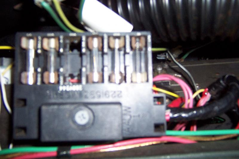 A Body Mopar Fuse Box