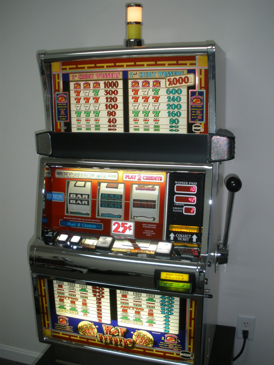 Slots machines for sale
