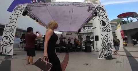 Du lịch Thái Lan || Xem ca nhạc đường phố ở trung tâm Si-am Bangkok