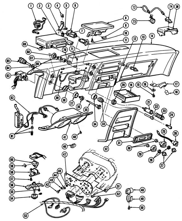 Pontiac Firebird Wiring