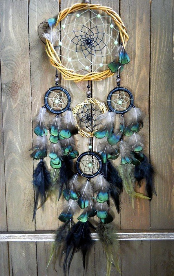 DIY Beautiful and Unique Dream Catcher Ideas (16)
