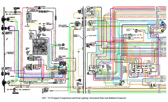 Engine Bay Front End Wiring Diagram Schematic Please The 1947 Present Chevrolet Gmc Truck Message Board Network