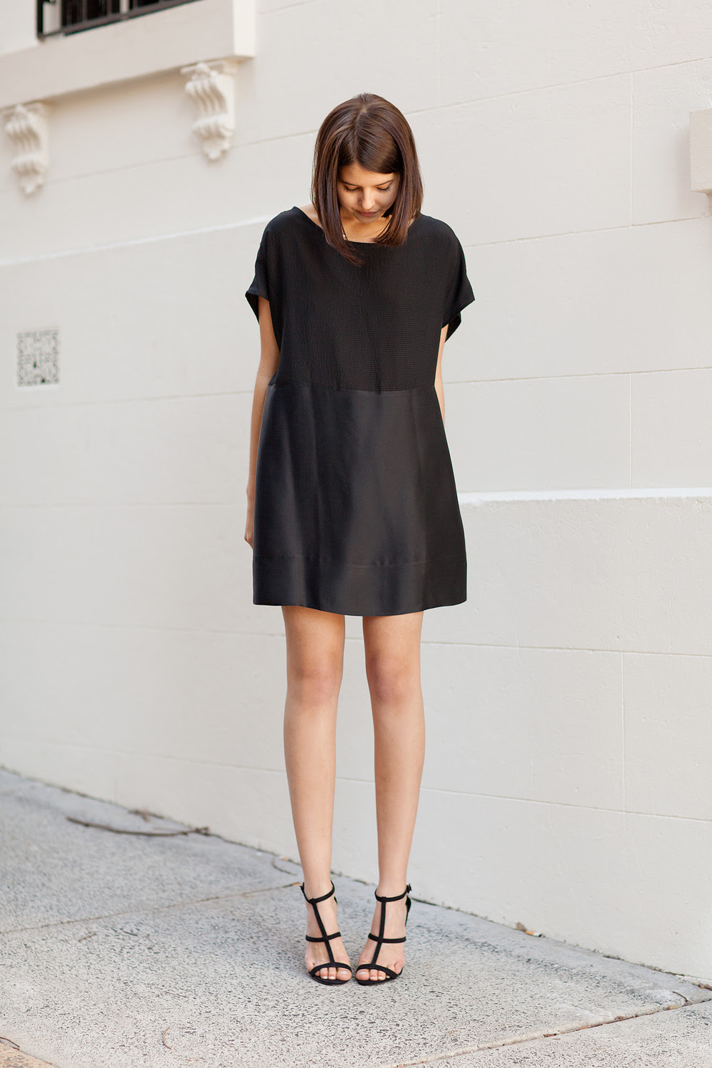Gillian Tennant Shell Dress , ASOS heels