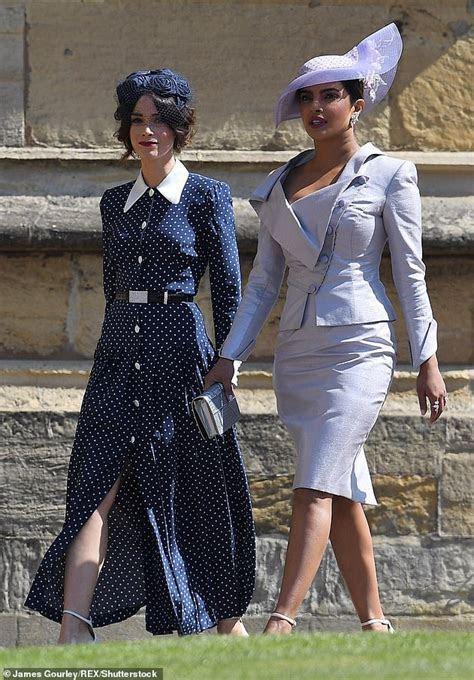 Kate Middleton?s navy polka dot dress looks like one worn