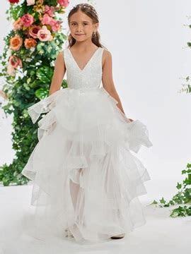 Flower Girl Dresses, Cheap Ivory Flower Girls Dresses