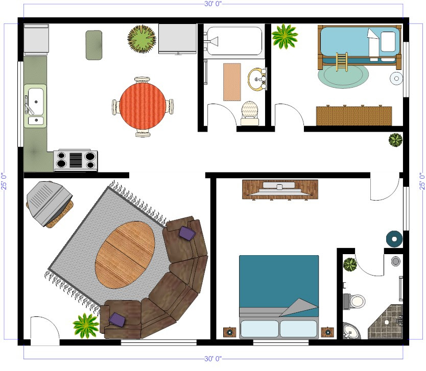 Backyard Pool CAD Layouts