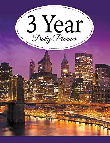 9781681277493: 3 Year Daily Planner - AbeBooks - Publishing LLC ...
