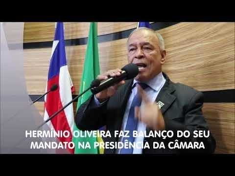 ELEIÇÃO NA CÂMARA (Vídeo) | Hermínio Oliveira faz balanço da sua gestão e empossa o novo presidente da Câmara Municipal de Conquista