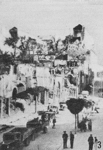 Zocodover es ocupado por las fuerzas nacionales de Varela