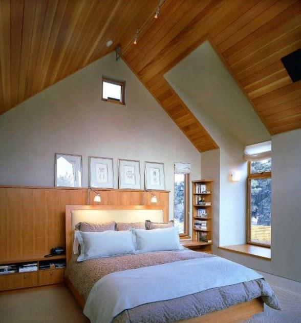 Cara Membuat Loteng, Ruang di bawah atap - Artikel Teknik Arsitektur dan Sipil