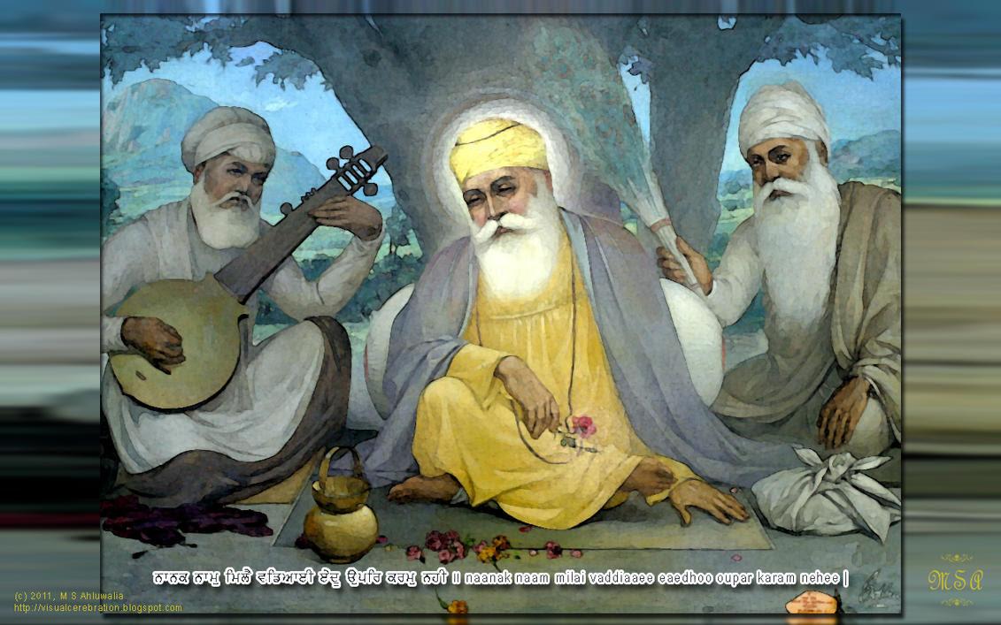 Wallpaper :: Guru Granth Sahib 903-7