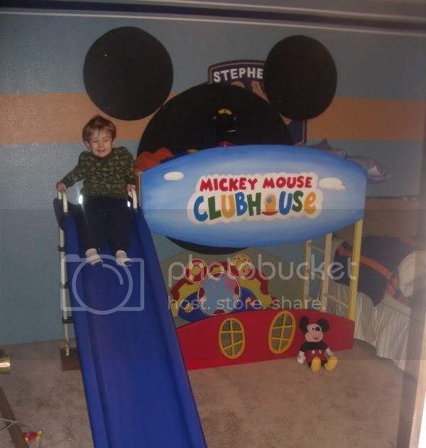 Raising The Rhyne Brine Mickey Mouse Toddler Bunk Bed