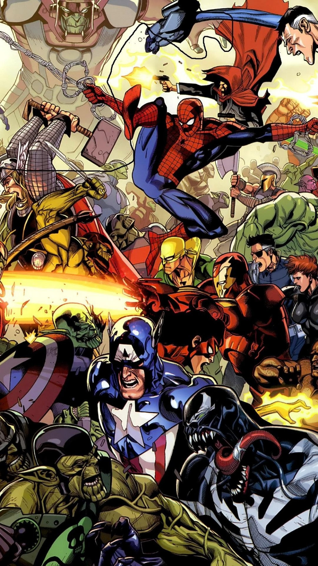 Marvel Wallpaper iPhone (80+ images)