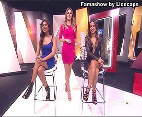 As belas apresentadoras do Famashow