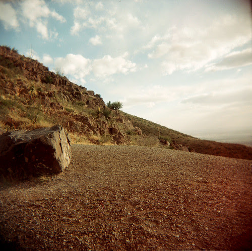 At the Edge :: A View from Transmountain for Rachel