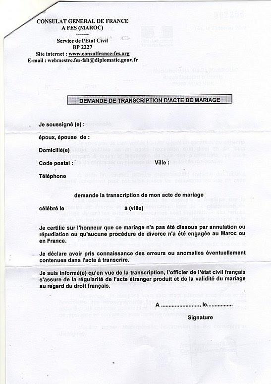 Exemple De Lettre De Procuration Pour Acte De Naissance ...