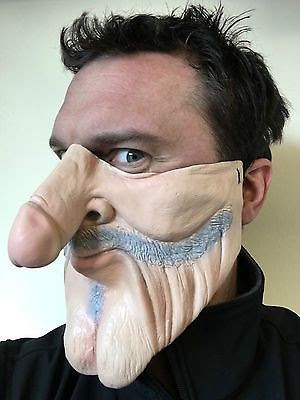 Mask Not Covering Nose Cartoon - MASK