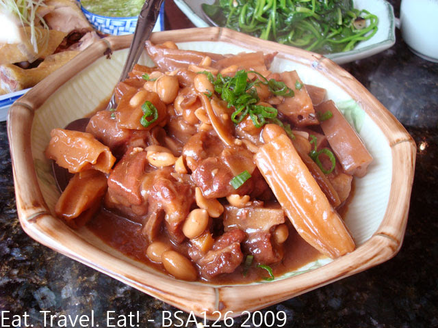 Oxtails with Lotus Root