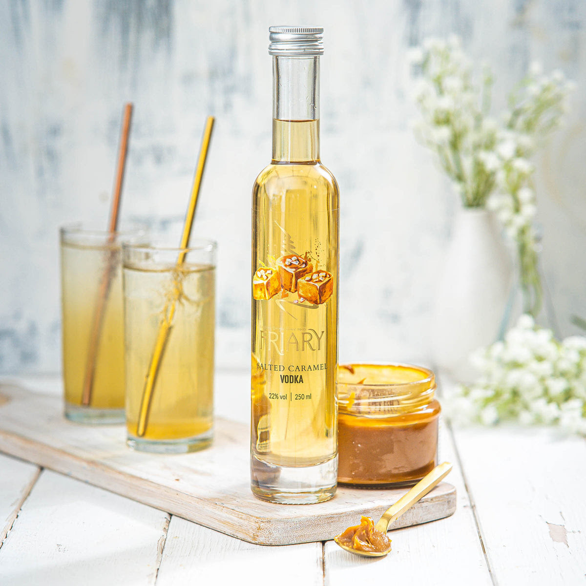 Salted Caramel Vodka - Friary Drinks